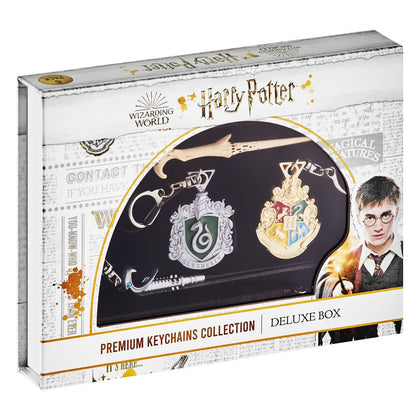Harry Potter Keychains 6-Pack Deluxe Set C