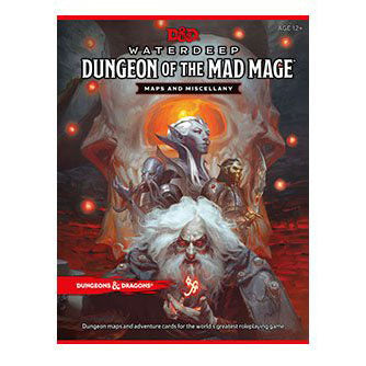 Dungeons & Dragons RPG Waterdeep: Dungeon of the Mad Mage - Maps & Miscellany EN