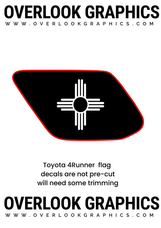 Toyota 4runner New mexico flag