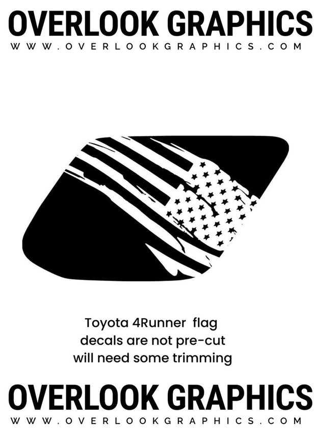 4RUNNER DISTRESS FLAG #68