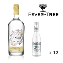 Load image into Gallery viewer, Darnley's Original + Fever-Tree Refreshingly Light Tonic Perfect Serve Set (Not EU)