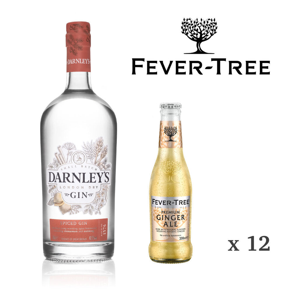 Darnley's Spiced + Fever-Tree Ginger Ale Perfect Serve Set (Not EU)
