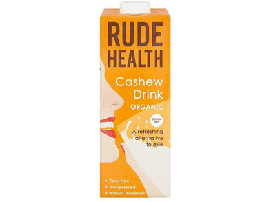 Rude Health Foods Cashew Drink - 1lt - Meats And Eats