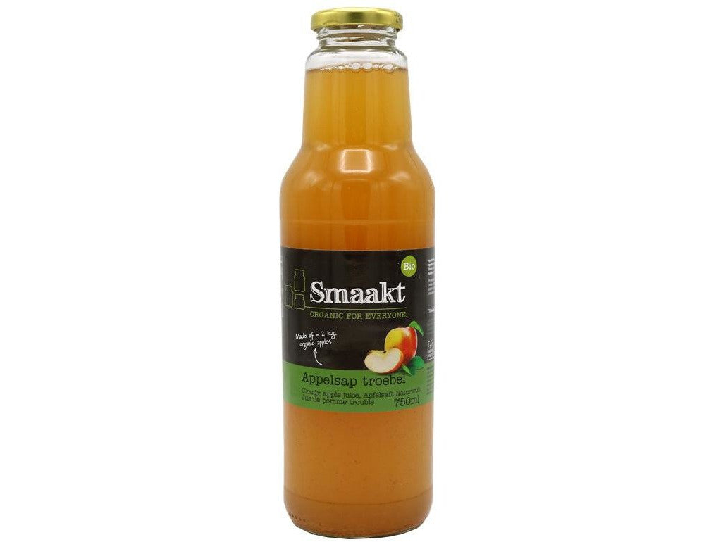 Smaakt Cloudy apple juice 750ML - Meats And Eats