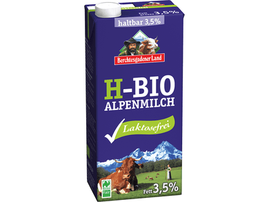 Organic UHT milk LACTOSE-FREE, 3,5%, 1,0l - Meats And Eats