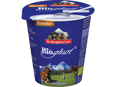 Organic  yoghurt natural, creamy stirred - Meats And Eats
