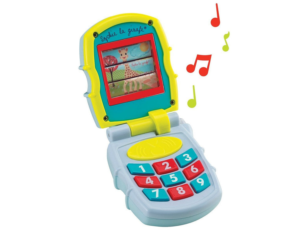 Sophie Le Girafe Musical Phone - Meats And Eats