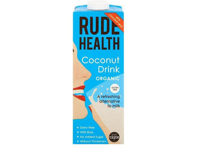 Rude Health Foods Coconut Drink Organic - 1lt - Meats And Eats