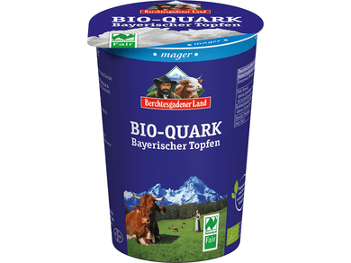 Organic Quark 0% fat in drymatter, 500g - Meats And Eats