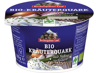 Organic Quark with herbs, 40% fat in drymatter - Meats And Eats