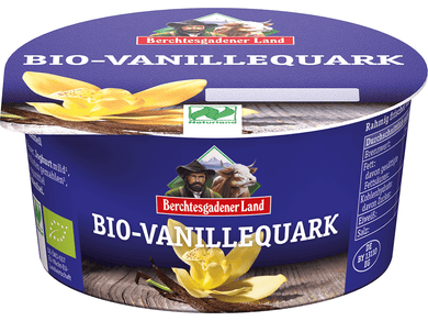 Organic  Quark with vanilla, 10% fat in drymatter - Meats And Eats