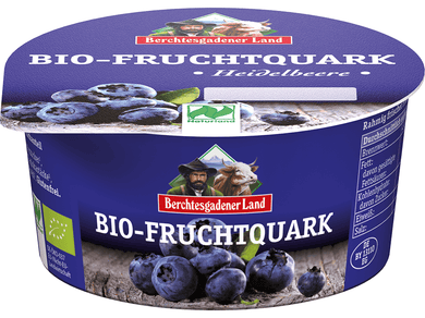Organic Quark with blueberry  - Meats And Eats
