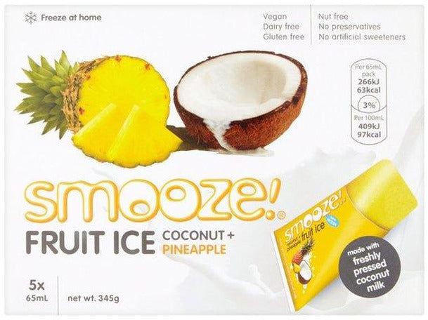 Suma Smooze Coconut & Pineapple - 5x65ml - Meats And Eats