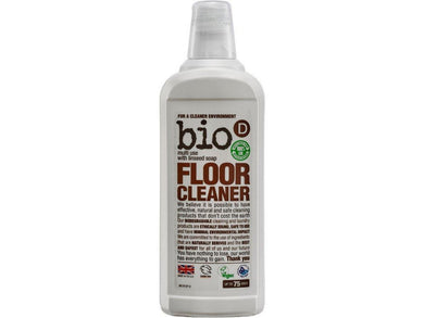 Bio-D Floor Cleaner With Linseed - 750ml - Meats And Eats