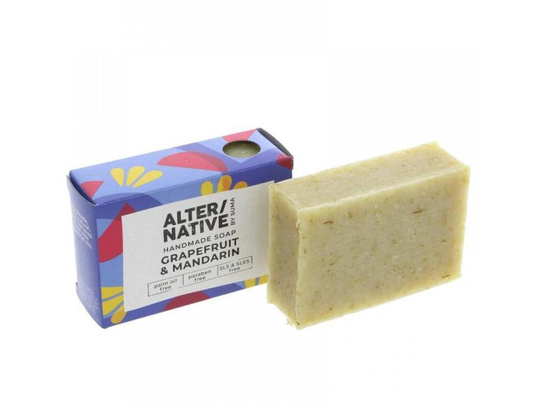 Alter Native Native Soap Grapefruit - 95g - Meats And Eats