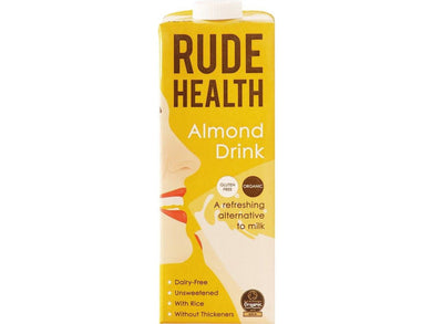 Rude Health Foods Almond Drink Organic - 1lt - Meats And Eats