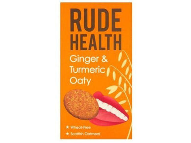 Rude Health Foods Ginger & Turmeric Oaty - 500g - Meats And Eats