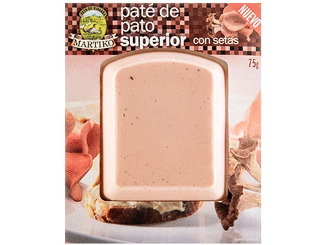Martiko Superior Duck Pate with Mushrooms 75g - Meats And Eats