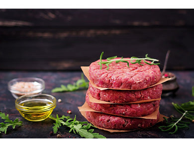 Fresh Organic beef burger x170g - Meats And Eats