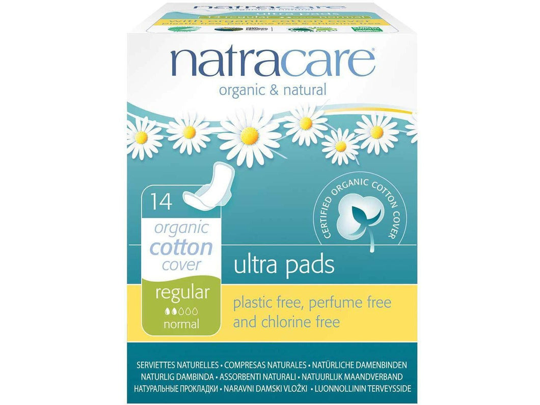 Natracare Ultra Pad + Wings - Meats And Eats