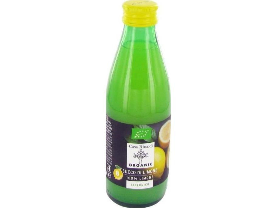 Casa Rinaldi Organic Lemon Juice 100% - 250ml - Meats And Eats