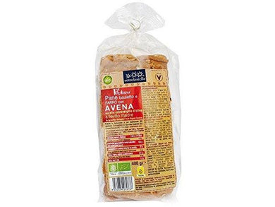 Sottolestelle Spelt Bread With Oat Flour & Extra Vergin Olive Oil 3% - 400g - Meats And Eats