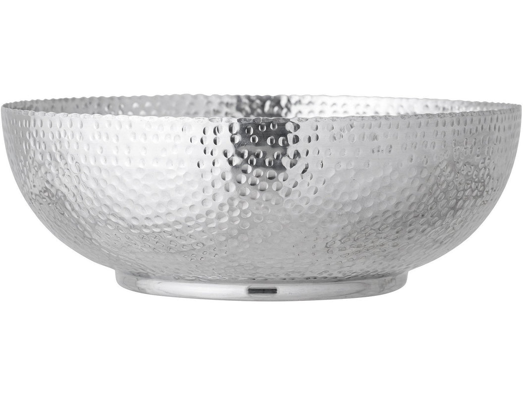 Bowl, Silver, Aluminum - Meats And Eats