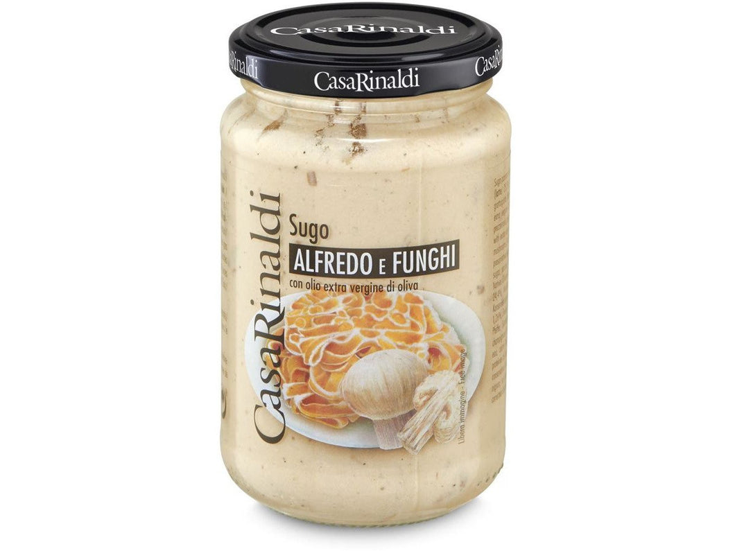 Alfredo Funghi Sauce 350g - Meats And Eats