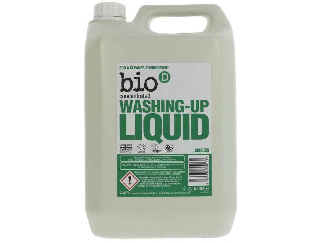 Bio-D Washing up Liquid 5 litres - Meats And Eats