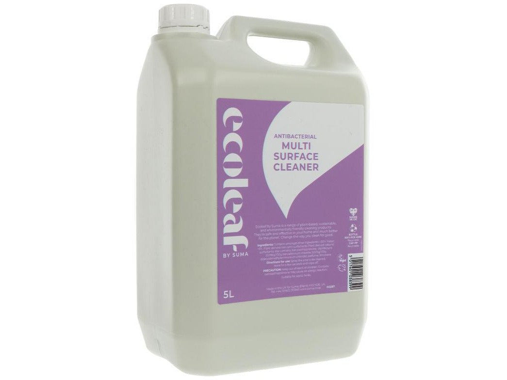 Ecoleaf By Suma Multi Surface Cleaner - 5l - Meats And Eats