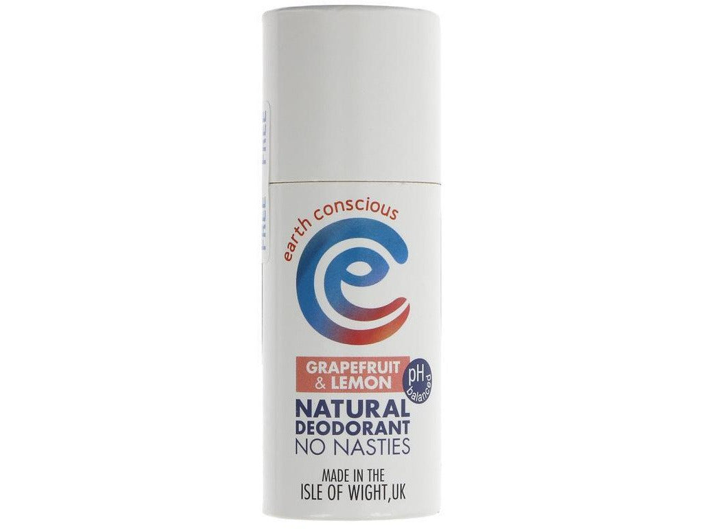 Earth Conscious Natural Deodorant - Grapefruit - Meats And Eats