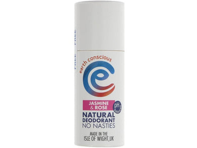 Earth Conscious Natural Deodorant - Jasmine - Meats And Eats