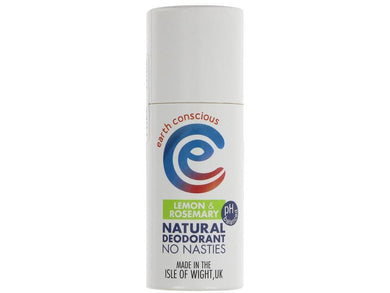 Earth Conscious Natural Deodorant - Lemon - Meats And Eats