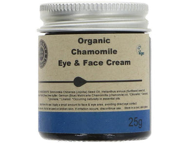 Heavenly Organics Skin Care Eye & Face Cream - Chamomile - Meats And Eats