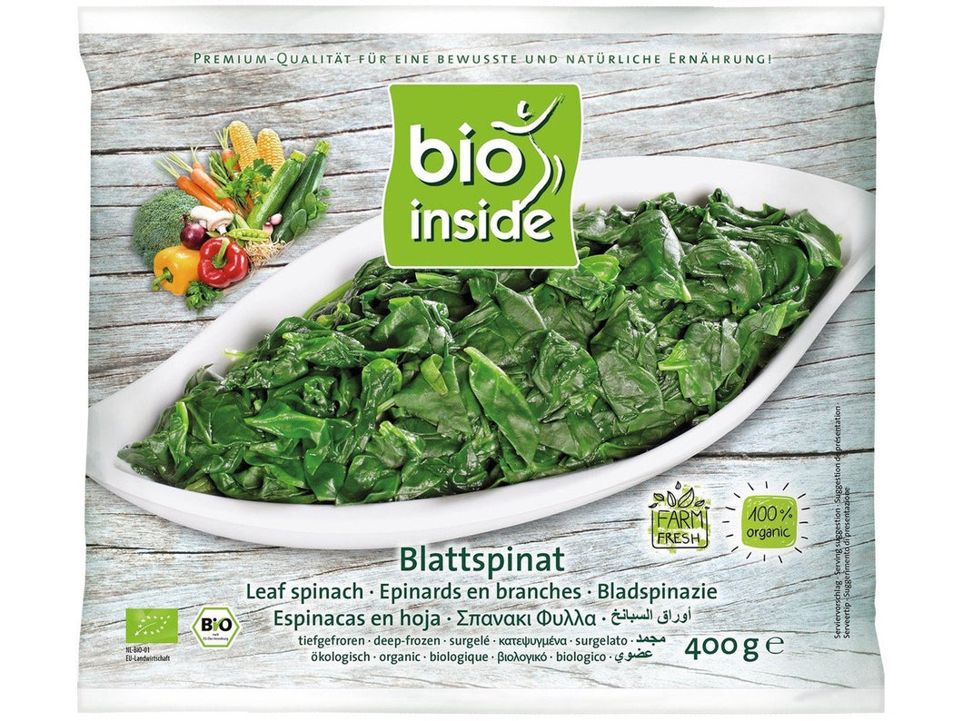 Organic  leaf spinach - Meats And Eats
