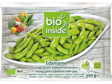 Organic edamame with pod - Meats And Eats