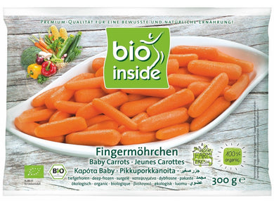 Organic baby carrots - Meats And Eats
