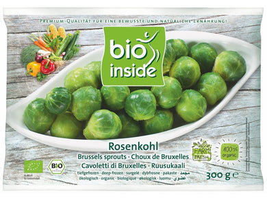 Organic  brussel sprouts - Meats And Eats