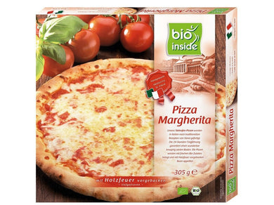 Organic pizza margherita - Meats And Eats