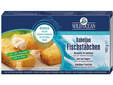 Wild Ocean Cod fish fingers - Meats And Eats