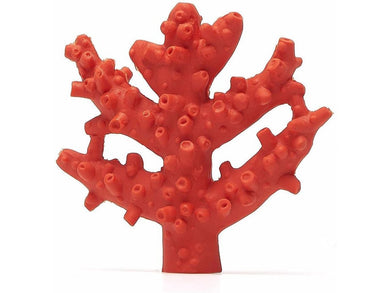 Lanco Red Coral Teether & Bath Toy - Meats And Eats