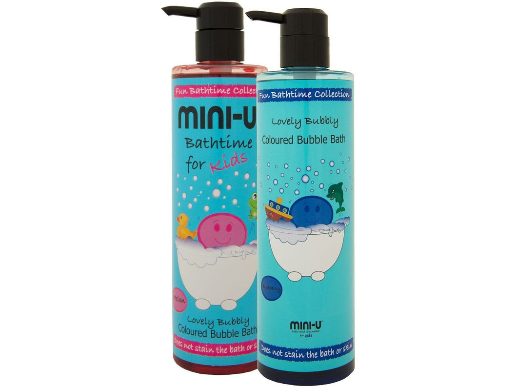 Mini-U Lovely Bubbly Coloured Bubble Bath 500ml - Meats And Eats