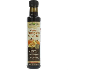 Natures Aid Pumpkin Seed Oil Organic - Meats And Eats
