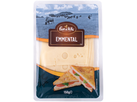 FIOR DI VITA EMMENTAL CHEESE SLICES X 150GR - Meats And Eats