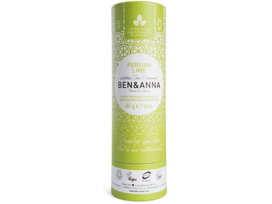 Ben & Anna Deodorant Stick - Persian Lime - Meats And Eats