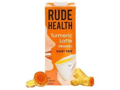 Rude Health Foods Tumeric Latte - 1lt - Meats And Eats