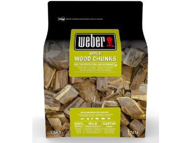 BBQ ACCS Weber Smoking Chunks Apple - Meats And Eats