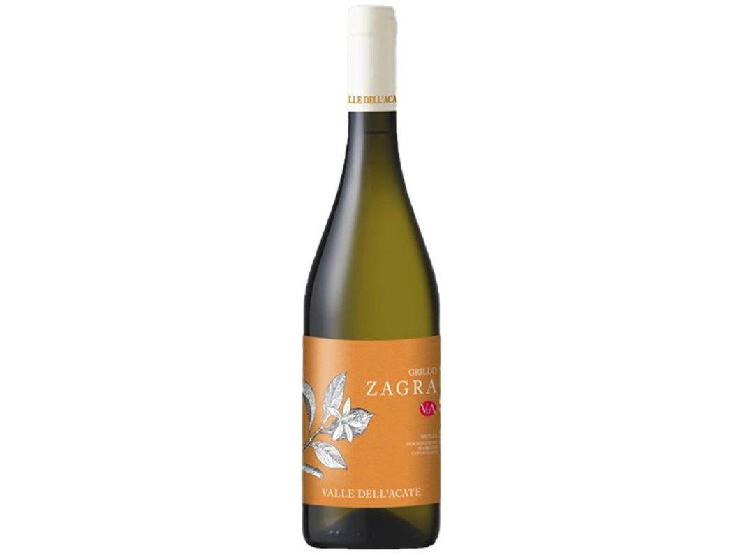 ZAGRA - GRILLO SICILIA D.O.C. 2019 ORGANIC - Meats And Eats