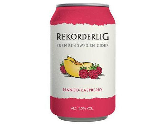 Rekorderlig Mango & Raspberry Cider - Meats And Eats