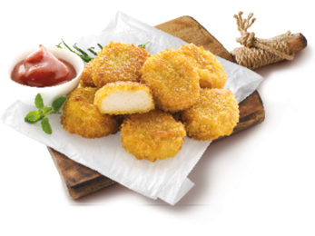 Organic Chicken Nuggets - Bio Alleva 260gr Frozen - Meats And Eats